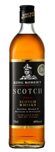 King Robert II Scotch