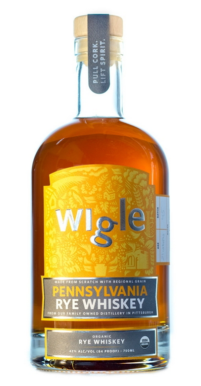 Wigle Pennsylvania Rye Whiskey