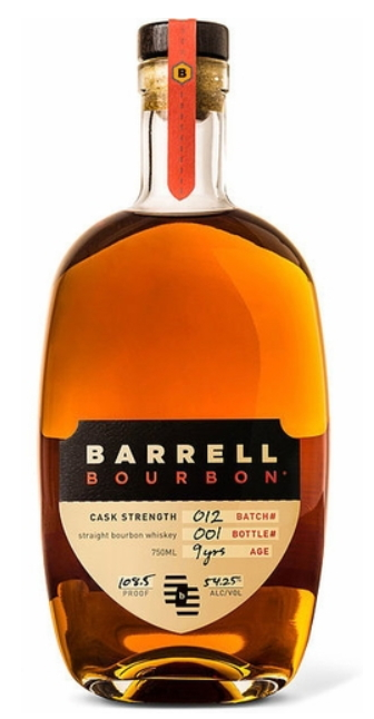 Barrell Bourbon, batch 012