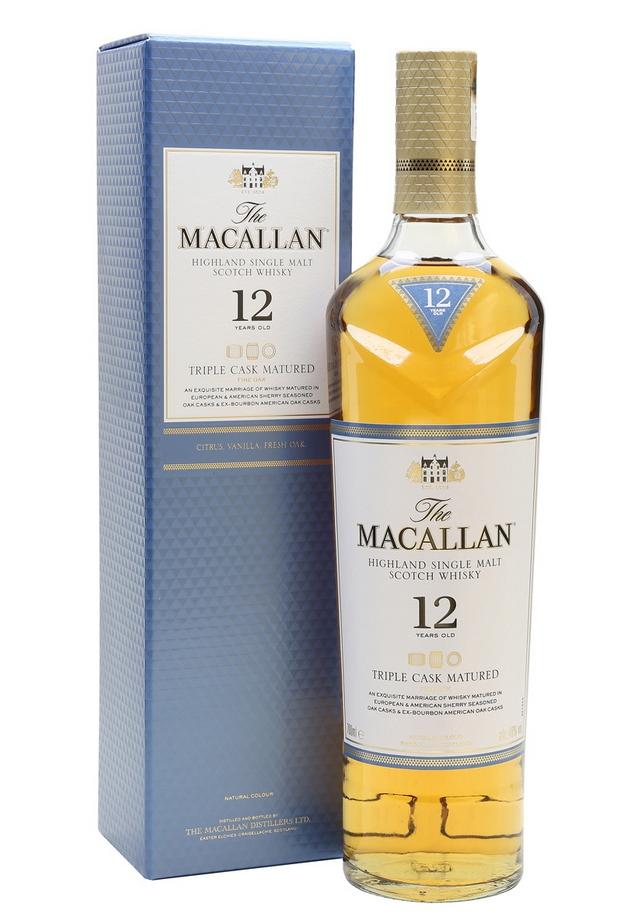 Macallan 12 Year Old Triple Cask