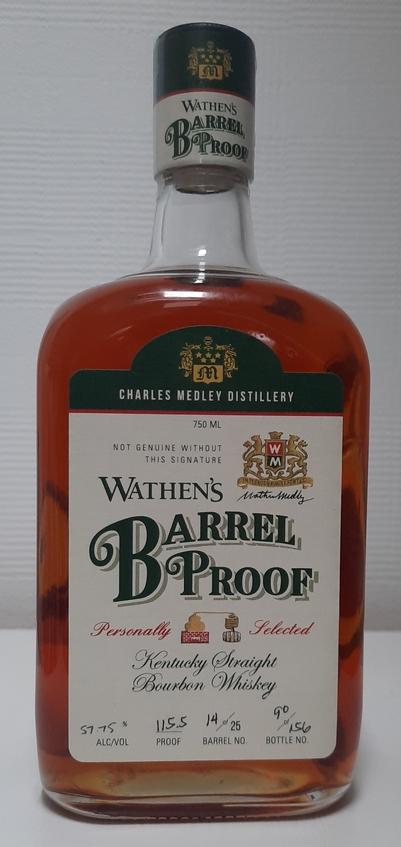 Wathen's Barrel Proof