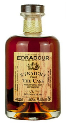 Edradour Straight from the Cask Sherry (2006)