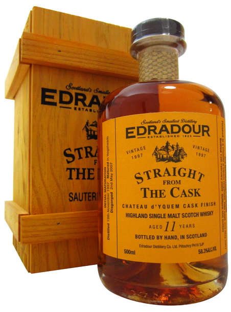 Edradour Straight from the Cask Sauternes (1997)