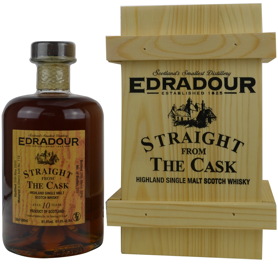 Edradour Straight from the Cask Sherry (2005)