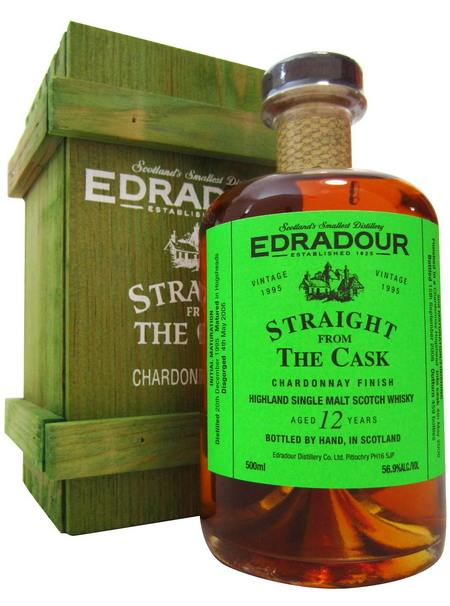 Edradour Straight from the Cask Chardonnay (1995)
