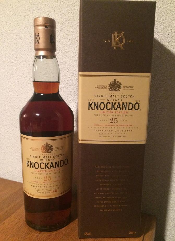 Knockando Limited Edition 1986