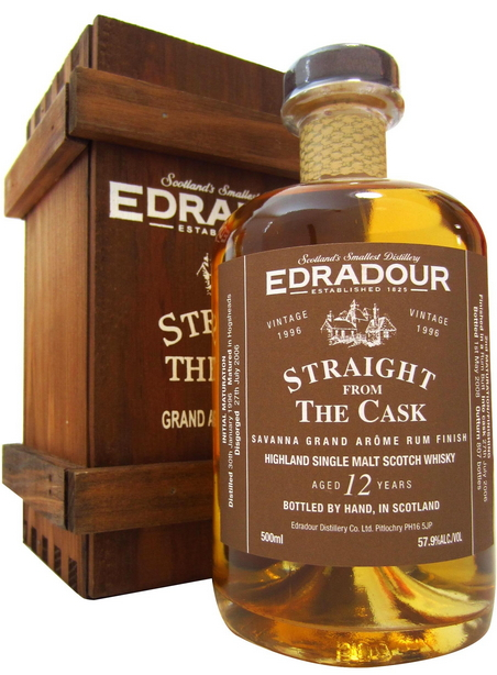 Edradour Straight from the Cask Savanna Rum (1996)