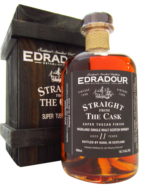Edradour Straight from the Cask Super Tuscan (1996)