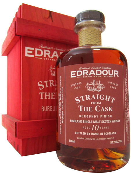 Edradour Straight from the Cask Burgundy (1995)