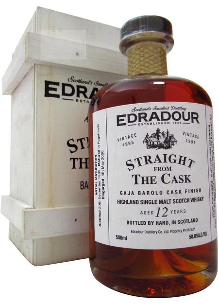 Edradour Straight from the Cask Gaja Barolo (1995)