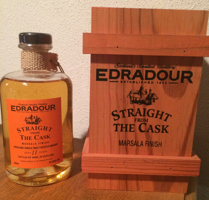 Edradour Straight from the Cask Marsala (1994)