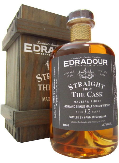 Edradour Straight from the Cask Madeira (1996)