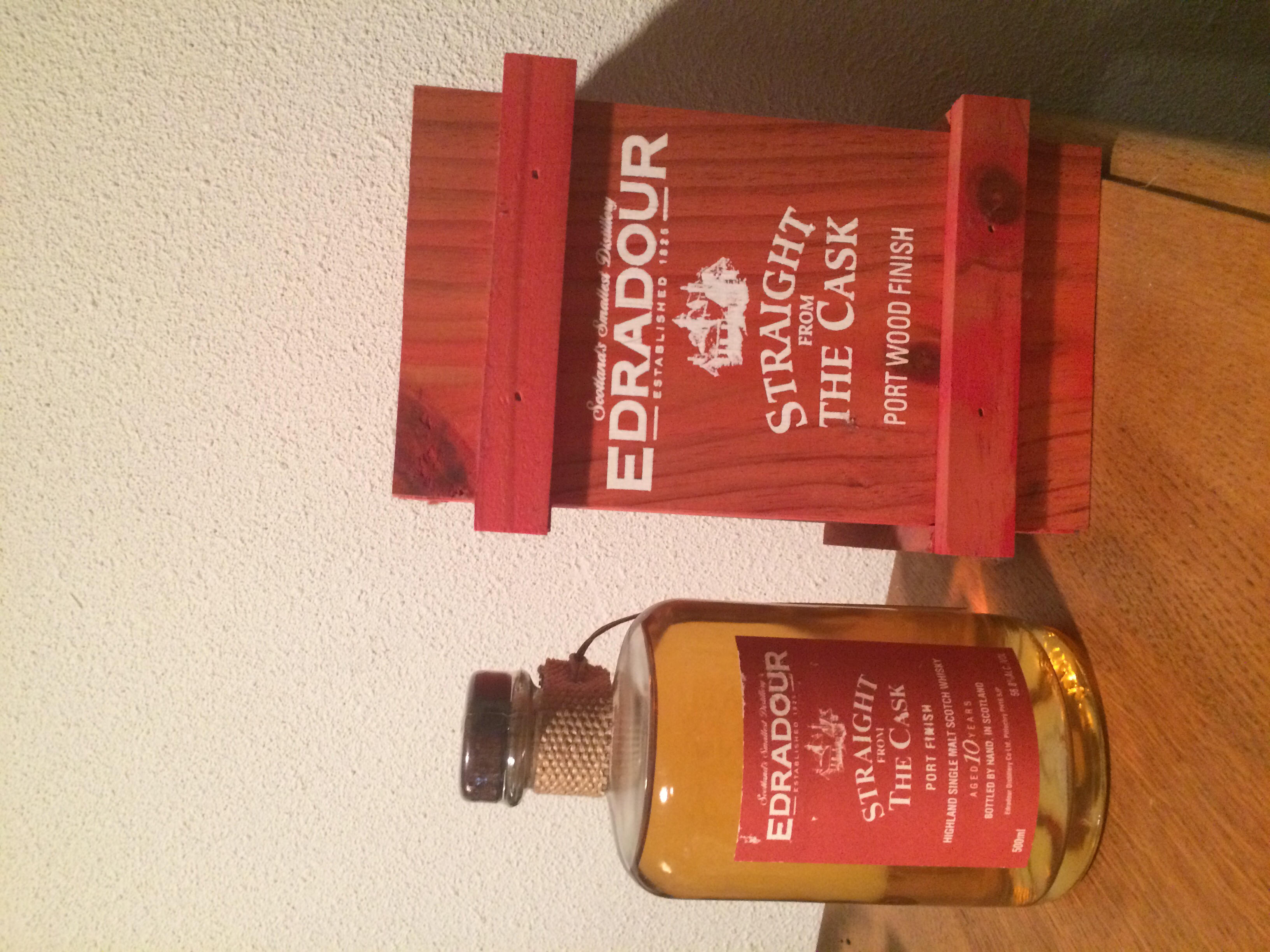 Edradour Straight from the Cask Port (1993)