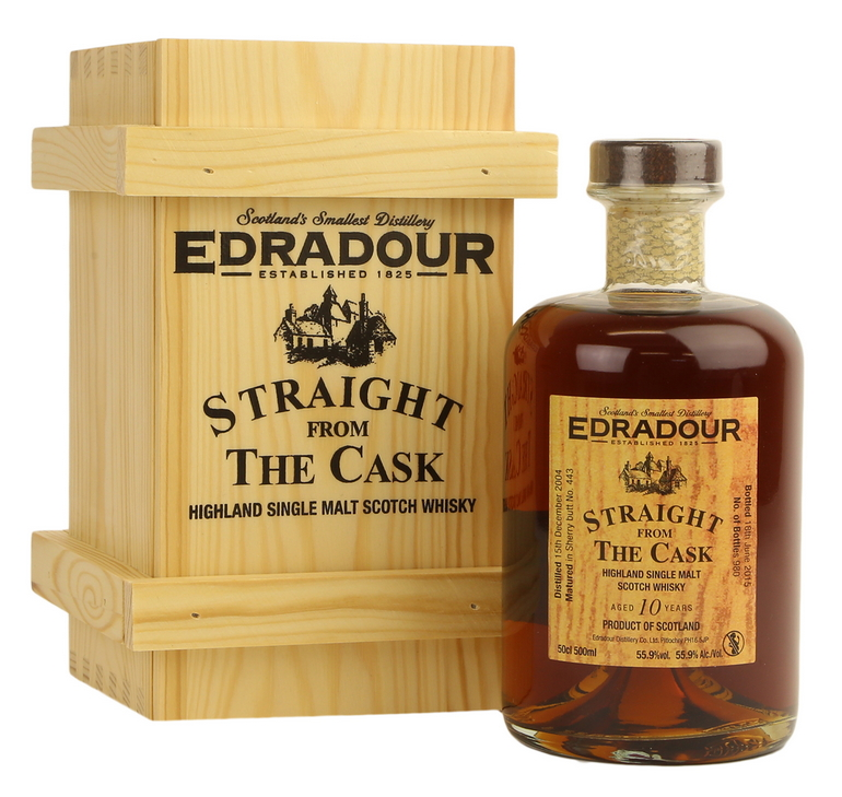 Edradour Straight from the Cask Sherry (2004)
