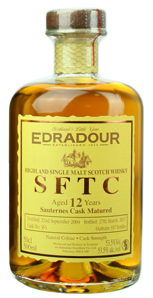 Edradour Straight from the Cask Sauternes (2004)