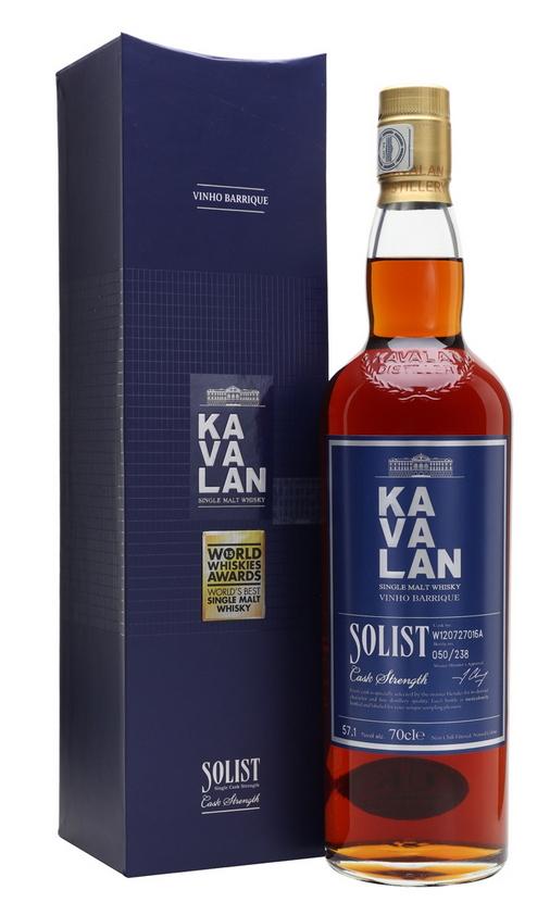 Kavalan Solist, Vinho Barrique