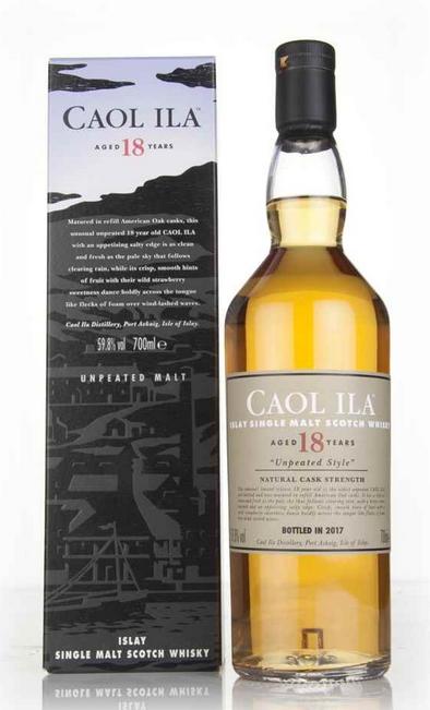 Caol Ila 18 Year Old Unpeated