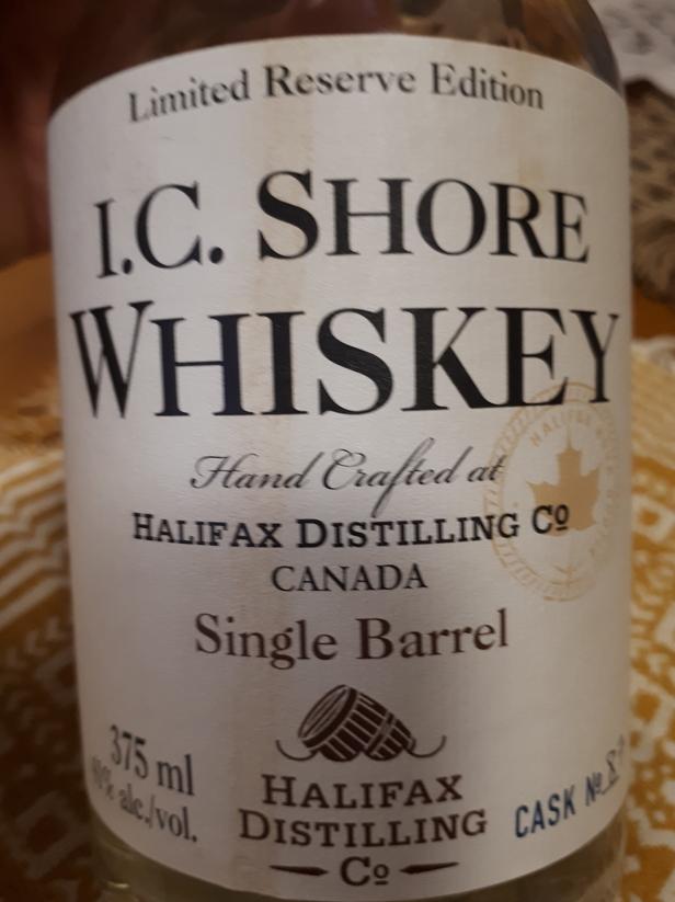 I.C. Shore Whiskey Single Barrel