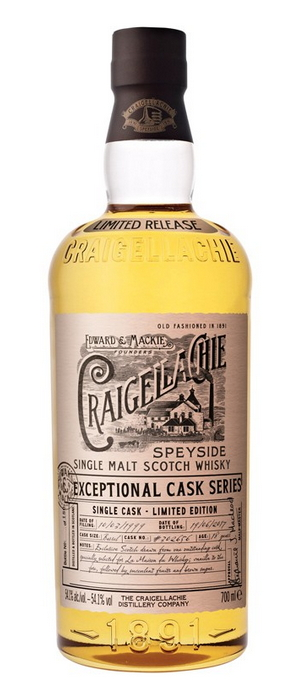 Craigellachie 1999 Exceptional Cask Series