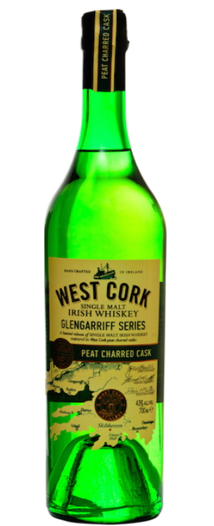 West Cork Glengarriff Peat Charred