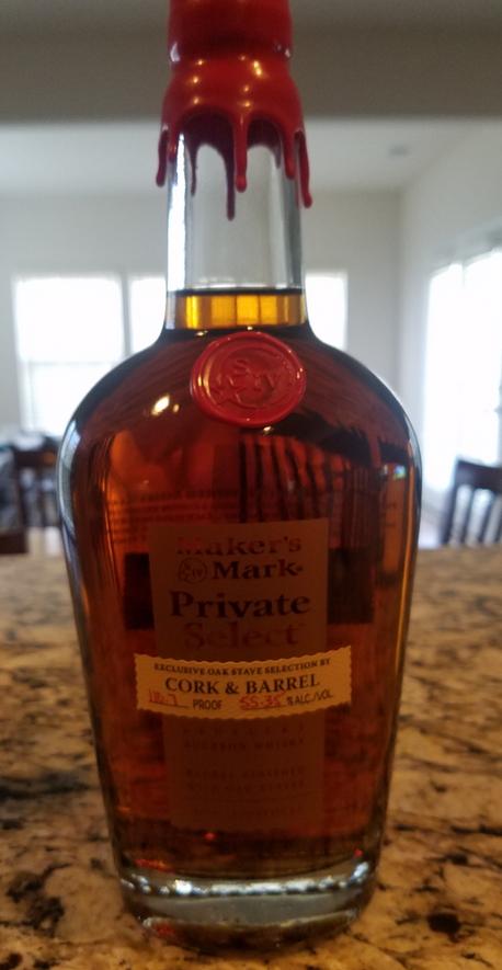 Maker's Mark Private Select (Cork & Barrel)