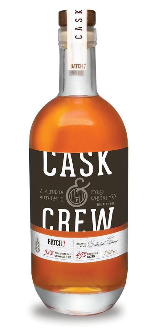 Cask & Crew Blended Rye Whiskey