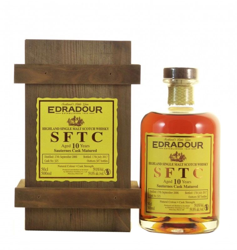Edradour Straight from the Cask Sauternes (2006)