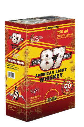 Wicked Spirits 87 American Light Whiskey