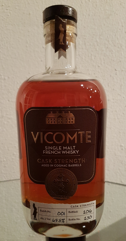 Vicomte Cask Strength, Batch 001