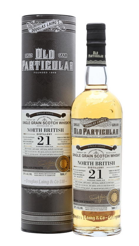 North British 21 Year Old (Old Particular)