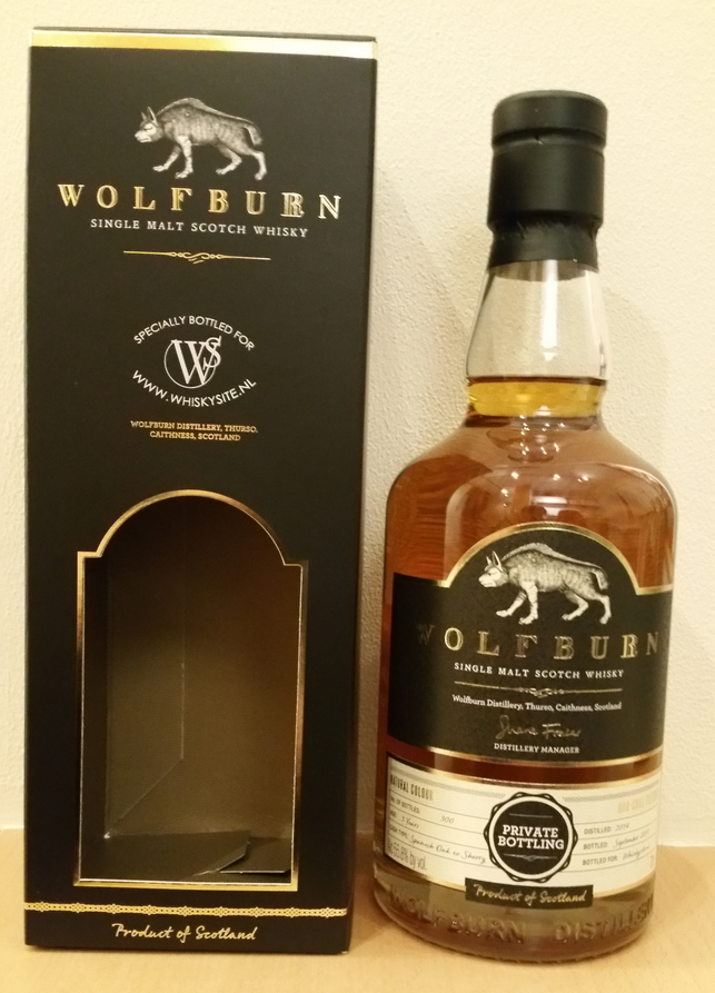 Wolfburn 2014 Private Bottling – Whiskysite.nl