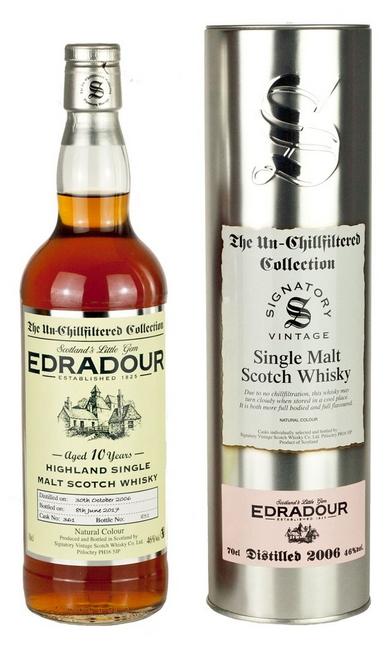 Edradour 2006 (Signatory Un-Chillfiltered)