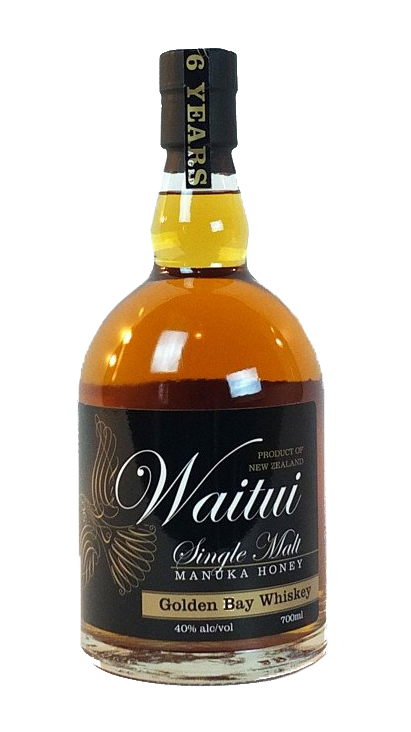Waitui Golden Bay Whiskey Manuka Honey