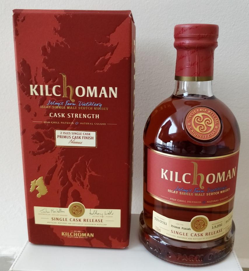 Kilchoman 2011 Single Cask Release, cask #530