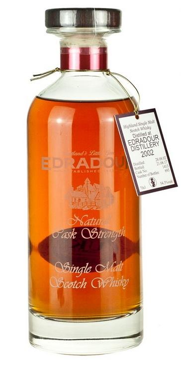 Edradour 2002 Natural Cask Strength