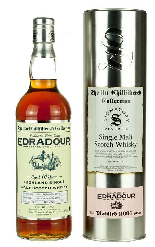 Edradour 2007 (Signatory Un-Chillfiltered)