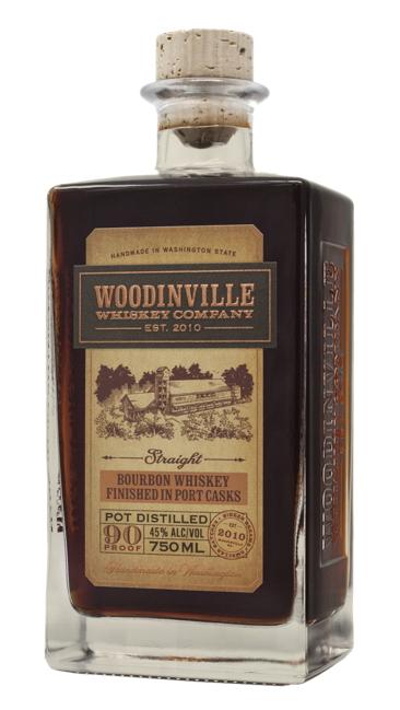 Woodinville Straight Bourbon Whiskey Port Finish