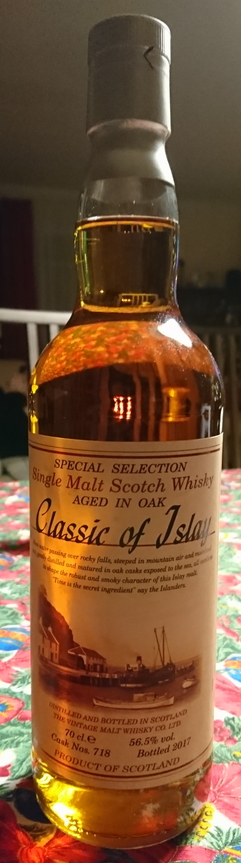 Classic of Islay 2017, cask #718