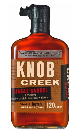 Knob Creek Single Barrel Reserve, cask #5537