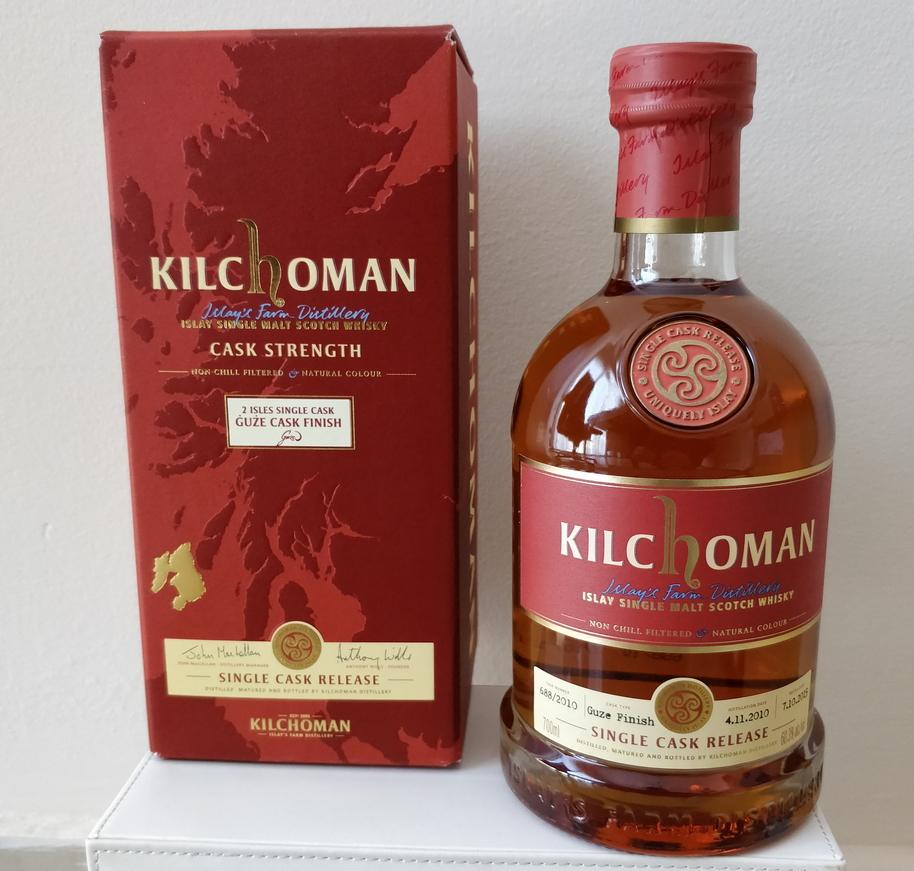Kilchoman 2010 Single Cask Release, cask #688