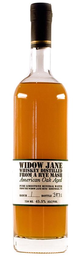 Widow Jane Whiskey Distilled from a Rye Mash