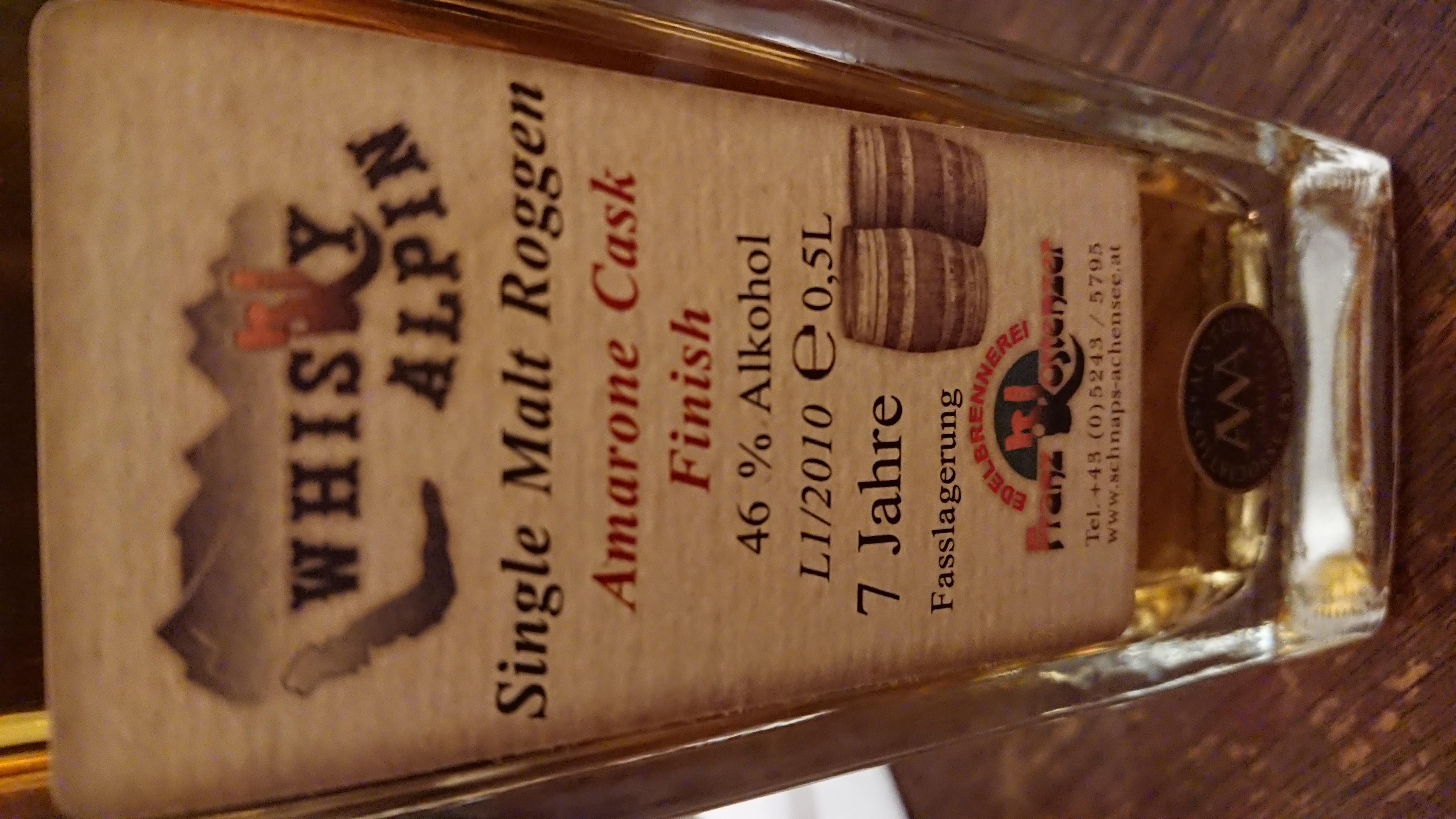 Whisky Alpin Amarone Cask Finish
