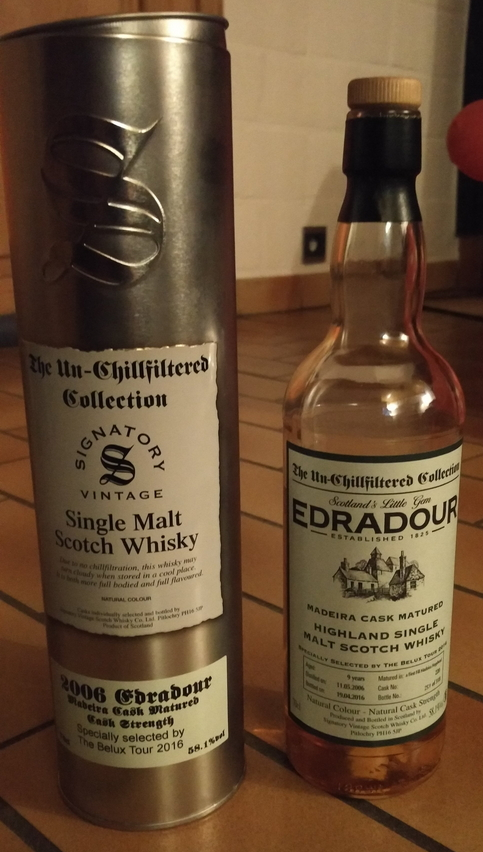 Edradour 2006 (Signatory Un-Chillfiltered)