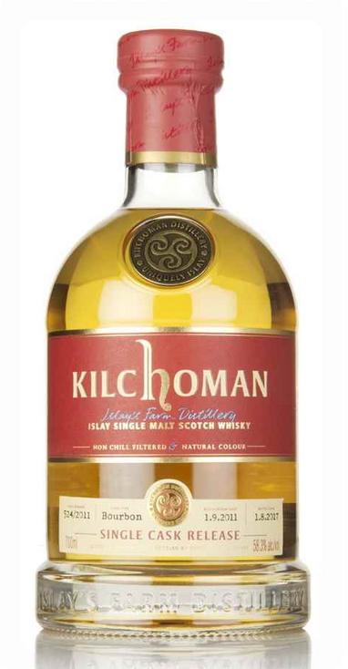 Kilchoman 2011 Single Cask Release, cask #524