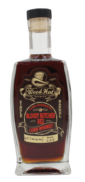 Wood Hat Bloody Butcher Red Corn Whiskey