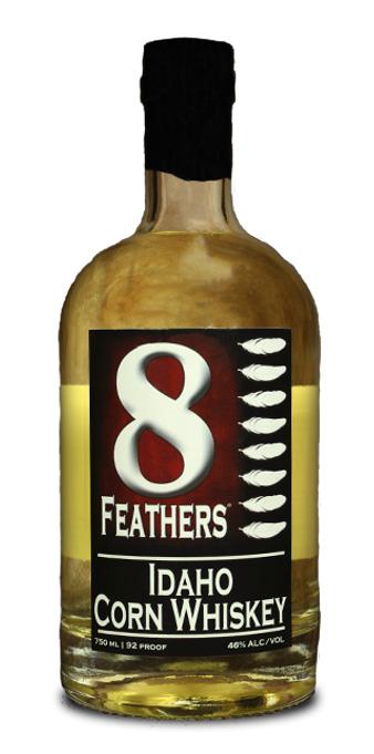 8 Feathers Idaho Corn Whiskey