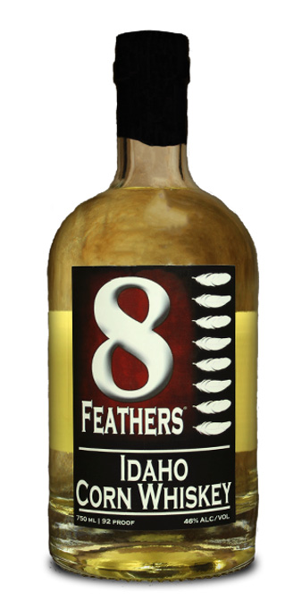 8 Feathers Idaho Corn Whiskey