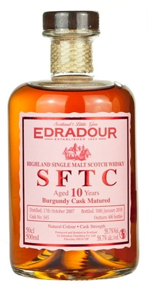 Edradour Straight from the Cask Burgundy (2007)