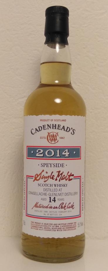 Craigellachie 1999 (Cadenhead's)