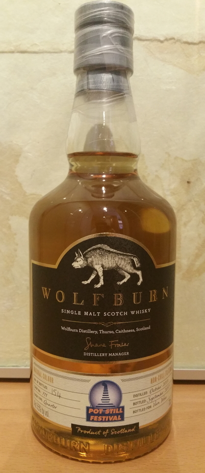 Wolfburn 2013 Pot Still Festival 2017